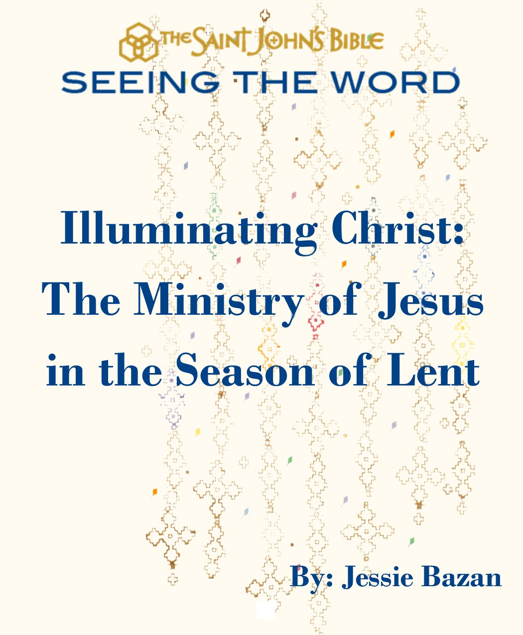 STW Lent booklet - Ministry of Jesus COVER